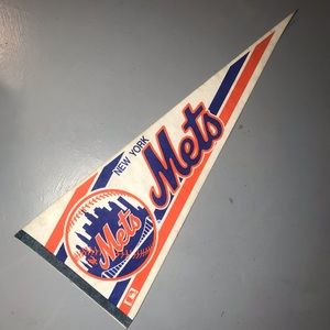Official mlb New York Mets 90's decorative flag